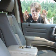 Keys Locked in Car